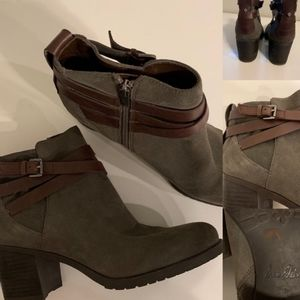 New!!!! Sam Edelman brown ankle boots booties